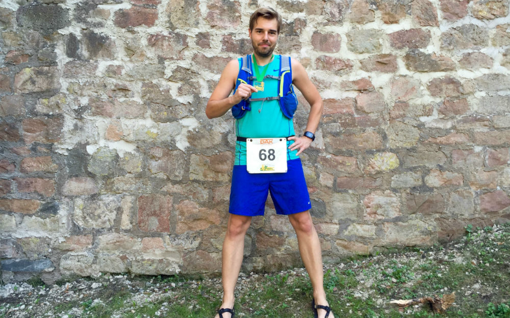 Burgwald Marathon Finisher joggingsucks
