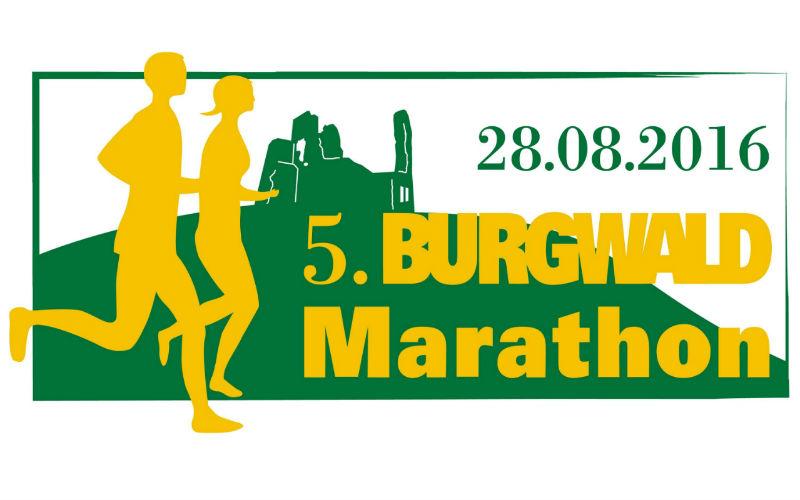 Logo 5. Burgwald Marathon 2016