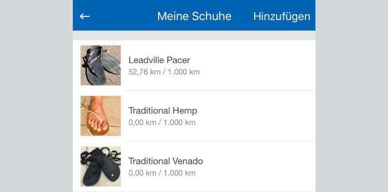 Runtastic PRO Schuhtracker