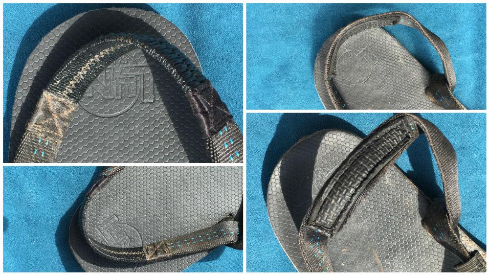 Luna Sandals Leadville Pacer Fersenband
