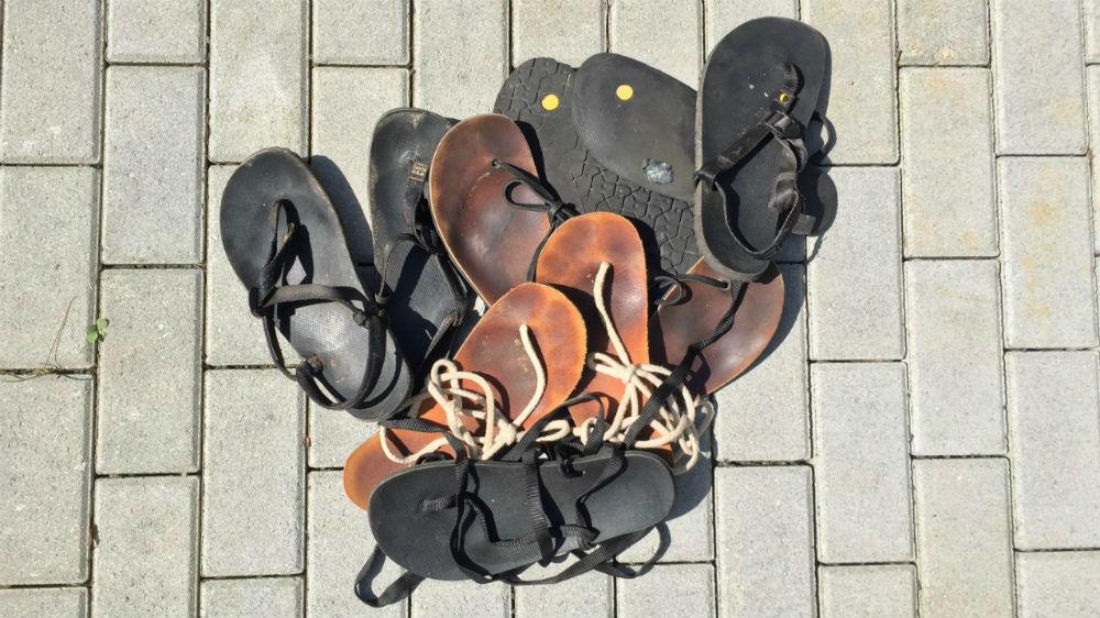 Luna Sandals verschiedene Sandalen