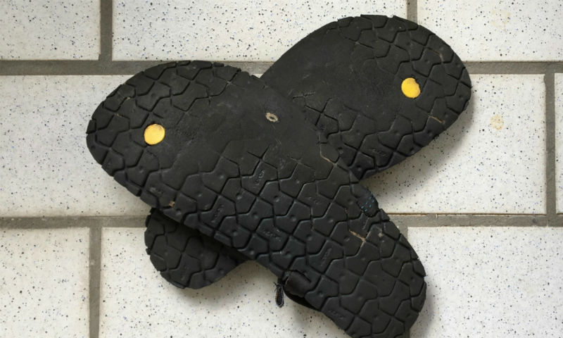 Luna Sandals Mono Sohle durchlöchert