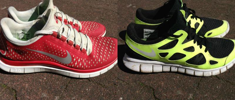 Nike Free 3.0 V4, Free Run+ 2