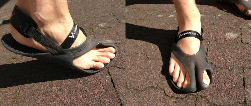 Vivo Barefoot Achilles Laufsandale, Huaraches