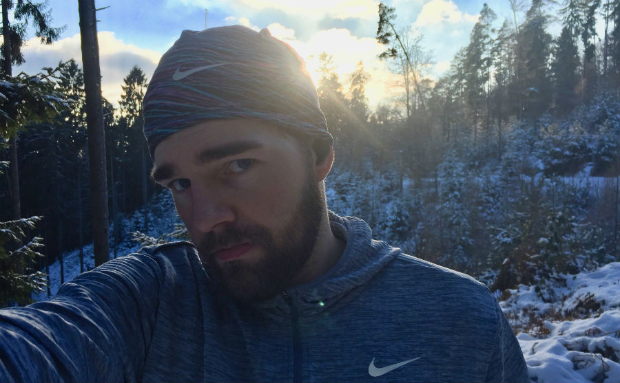 Running, Winter