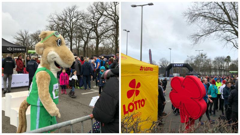 Berlin Recycling Silvesterlauf 2018, Pfannkuchenlauf